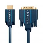 HDMI/DVI-välijohto 2m Clicktronic Casual