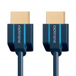 HDMI-välijohto 1,0m 4K60 ohut ja pieni pistoke Clicktroni