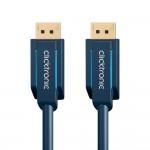 DisplayPort-välijohto 5,0m Clicktronic