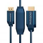 DisplayPort/HDMI-välijohto 2,0m Clicktronic