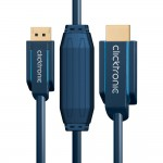 DisplayPort/HDMI-välijohto 5,0m Clicktronic