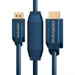 DisplayPort/HDMI-välijohto 10,0m Clicktronic