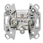 Multimediarasia päättyvä 3,5dB F-liitin, paluusuunnalle 5-65MHz