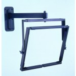 TV-seinäteline 80kg 20-29 riippuva, musta
