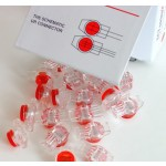 Teleliitin 3 johtoa 0,4-0,65mm (22-26) punainen