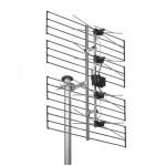 TV-paneeliantenni UHF K21-69 13,5dBd 2kpl/pkt, Wisi