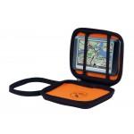 GPS-laukku S 4,3   Memory Foam musta/or sisämit. 100x85x25mm