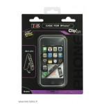 iPhone 3G/S -suojakuori sis. näytön suojakalvo, musta