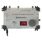 Ohjelmoitava suodin tulot: 3xUHF 10 ohjelmoitavaa UHF-kanavaa