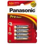 Alkaaliparisto LR03 4xAAA 1,5V Panasonic Pro Power