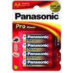 Alkaaliparisto LR6 4xAA 1,5V Panasonic Pro Power