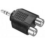 Adapteri 3,5mm(u)stereo/2xRCA(n) Marushin MA-88