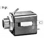 Runko 6,3mm stereo bakel. MJ-187 RoHS