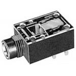 Runko 6,3mm stereo bakel. PCB MJ188 LP-2s RoHS