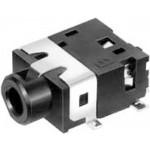 Runko 2,5mm 4 kontaktia SMT MJ-4225-4