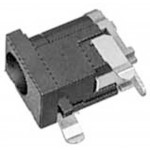 DC-runko 2,1/5,5mm PCB MX408BL Marushin