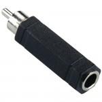 Adapteri RCA(u)/6,3mm(n) mono IP-pakattu