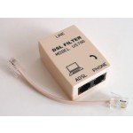 ADSL-suodin RJ11/2xRJ11 IP-pakattu