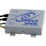 FM-modulaattori/  AUX-liitäntä Kytketään antennijohdon väliin