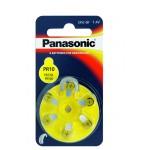 Kuulokojeparisto PR230 75mAh Panasonic 6kpl