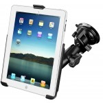 RAM iPad-teline imukupilla (1st/2nd gen), B-kuula