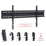 Seinäteline 60kg 40-80 VESA800x400 22mm seinästä