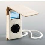 iPod Nano -nahkalaukku valkoinen