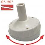 Jalka nylon pyöreä säädettävä 0-20° antenneille T480 ja C3779