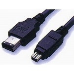 Firewire-välijohto 6/6 1,5m IEEE1394
