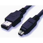 Firewire-välijohto 6/6 3m IEEE1394