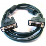 DVI-D-välijohto 24+1 3m Digi Dual bulk 93111