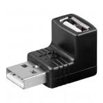 Adapteri USB A naaras/A uros kulma