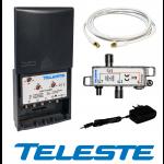 Mastovah FM/VHF/UHF/LTE 4 tuloa+verkkol. 12V, LTE700
