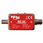 Estosuodin säädettävä UHF-loukku 2 kan 18dB+18dB / 1 kan 34dB