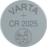 Lithiumparisto CR2025 3V 170mAh Varta
