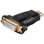 Adapteri HDMI-uros/DVI-naaras IP-pakattu