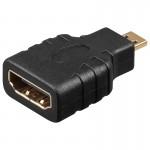Adapteri HDMI-A-naaras/D-uros (micro)