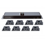HDMI CAT6-extenderi/jako 8 40m 1 loop edid
