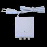 Verkkolaite 24VDC/150mA, 2 läht. seinä- tai DIN-kiskokiinnitys
