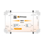 Modulaattori / IP-striimeri 1 in DVB-S2/T2/C, 1 out IP+DVB-T