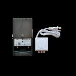 Mastovahvistin UHF 19-34dB LTE700 +verkkol. 24V, RED