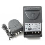 Mastovahv VHF/V+U/UHF 7-22dB +vl 24V, LTE+GSM-suod, 2 lähtöä