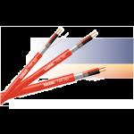 Kaiutinkaapeli paloilm.(PH120) LSZH 2x2,5mm² Punainen