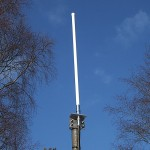 WLAN-ant ympärisäteilevä 12dBi 2,4GHz, 12dBi, pit 999mm