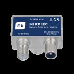 Data-TV suodin IEC-u/IEC-n/F-n EKOAX, 5-65MHz + 85-1000MHz