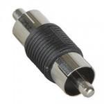 Adapteri RCA-uros/uros lyhyt IP-pakattu 2kpl