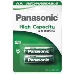 akku 2xAA 2450mAh RTU Panasonic (sopii 750-2450) P6P