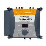 Päävahvistin Profiler VHF+ 6 ohj. UHF-kan, 4 ohj. VHF-kan.