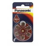 Kuulokojeparisto PR312 145mAh Panasonic 6kpl