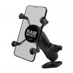 RAM timanttipohja Twist Lock X-Grip säädettävä B-kuula